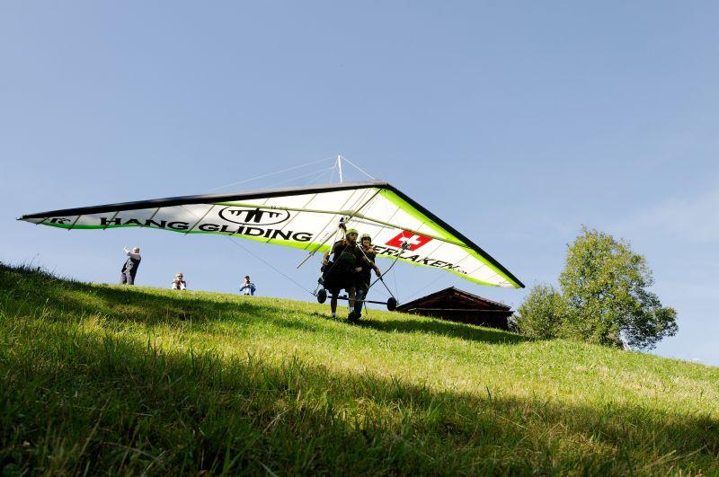 tandem Hang gliding Interlaken