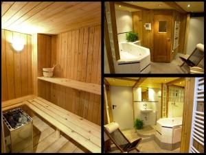 Ferien Haus mit Sauna