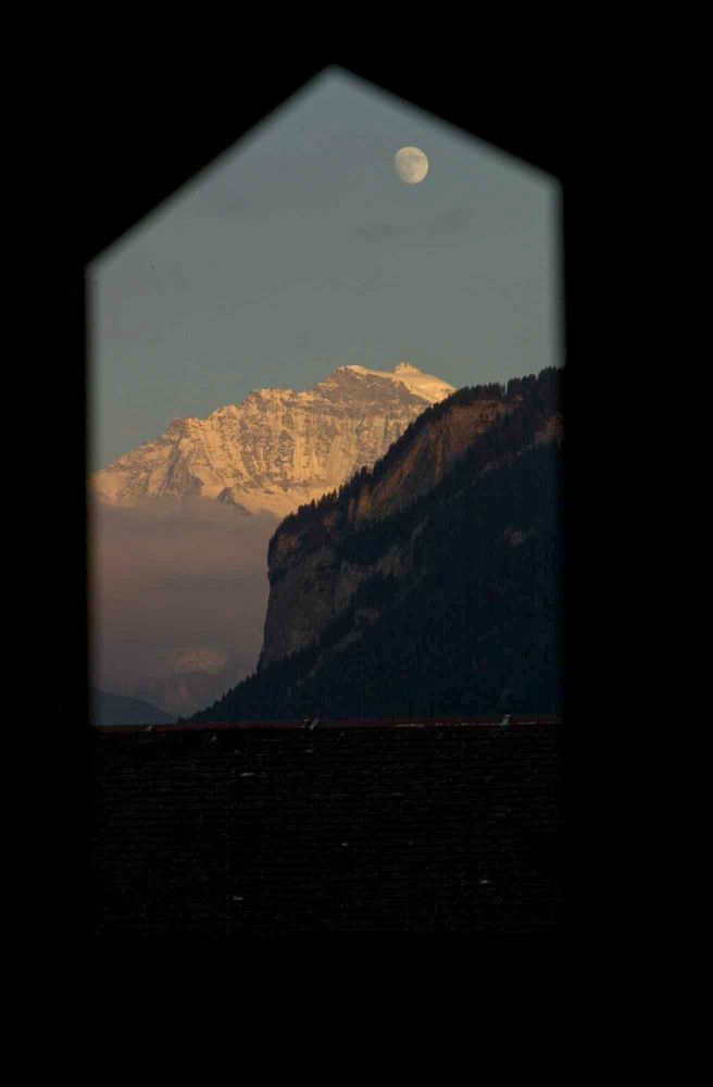 view to the Jungfrau........
